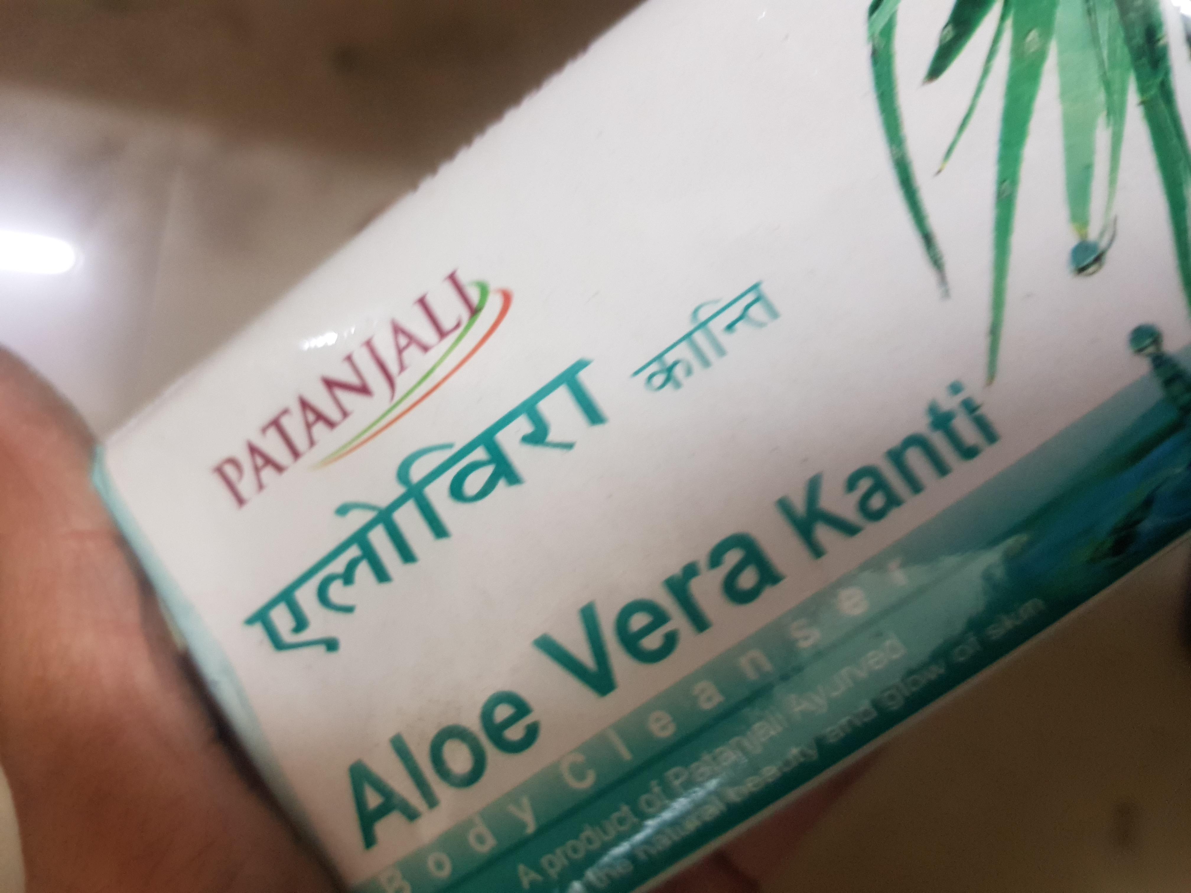 Patanjali Aloevera Kanti Body Cleanser-Aloe Vera!-By poonam_kakkar-2