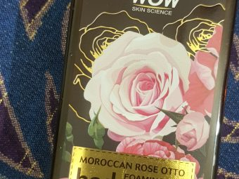 WOW Skin Science Moroccan Rose Otto Foaming Body Wash -Free from sulphate paraben silicon colour-By poonam_kakkar