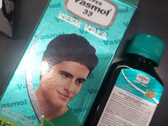 Super Vasmol 33 Kesh Kala Hair Oil -Hair colour oil!-By poonam_kakkar