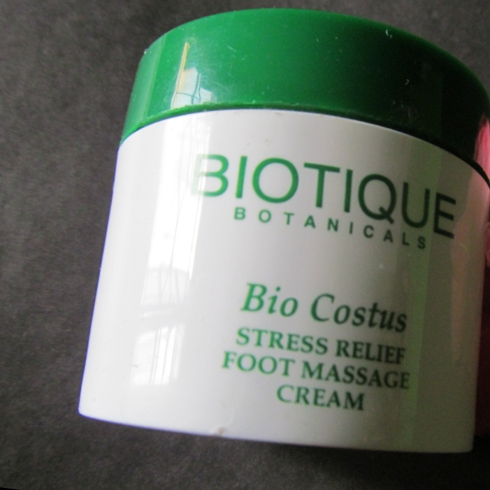 Biotique Bio Costus Stress Relief Foot Massage Cream-Biotique foot massage cream-By simranwalia29