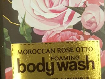 WOW Skin Science Moroccan Rose Otto Foaming Body Wash -Hydrates Skin-By vaishali_0111