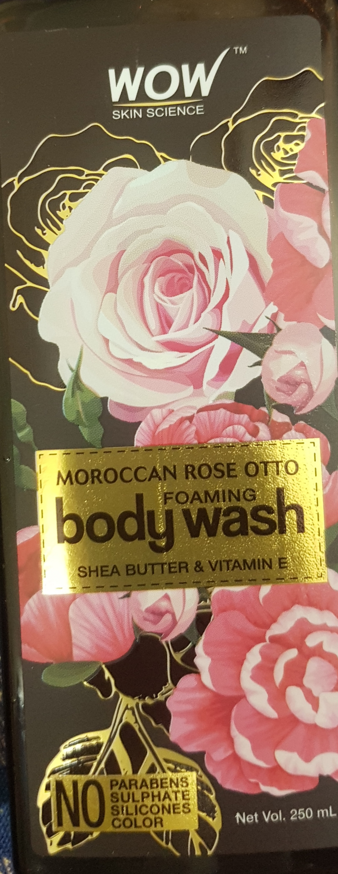 WOW Skin Science Moroccan Rose Otto Foaming Body Wash-Hydrates Skin-By vaishali_0111