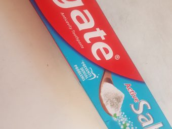 Colgate Active Salt Fight Germs Toothpaste -For whiter teeth!-By poonam_kakkar