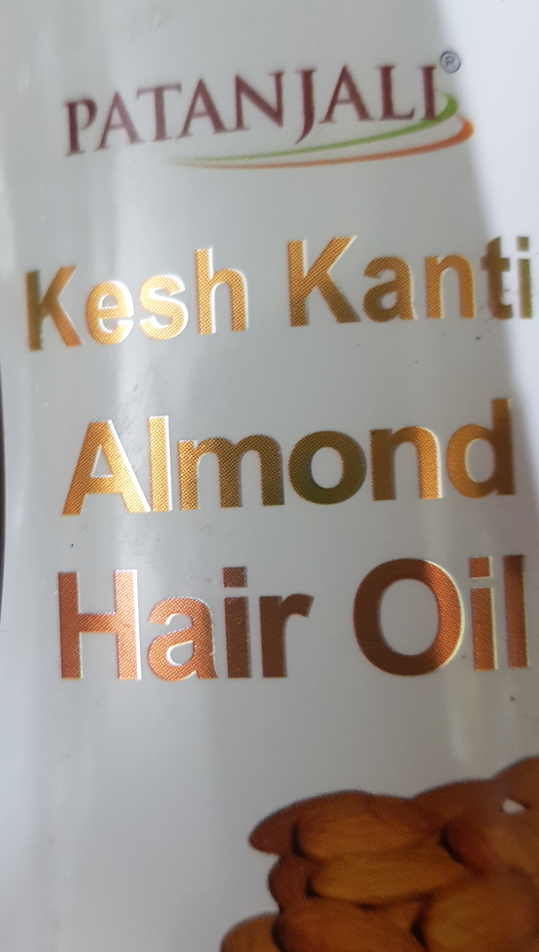 Patanjali Kesh Kanti Almond Hair Oil-Strengthens Hair-By vaishali_0111