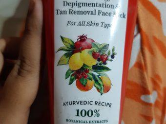 Biotique Bio Fruit Whitening & Depigmentation Face Pack -Depigmentation face pack-By rishikasahoo