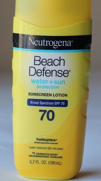 Neutrogena Beach Defense Sunscreen Lotion Broad Spectrum SPF 70 -Nice-By pogostylecase