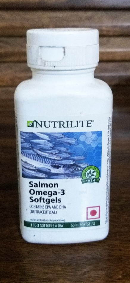 Amway Nutrilite Salmon Omega 3 (60 Softgels)-Amazing-By pogostylecase