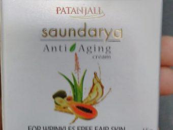 Patanjali Saundarya Anti Aging Cream -Okayish-By pogostylecase