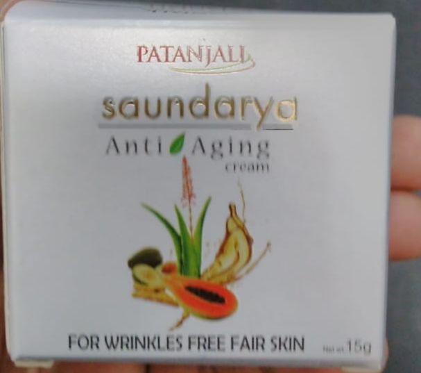 Patanjali Saundarya Anti Aging Cream-Okayish-By pogostylecase