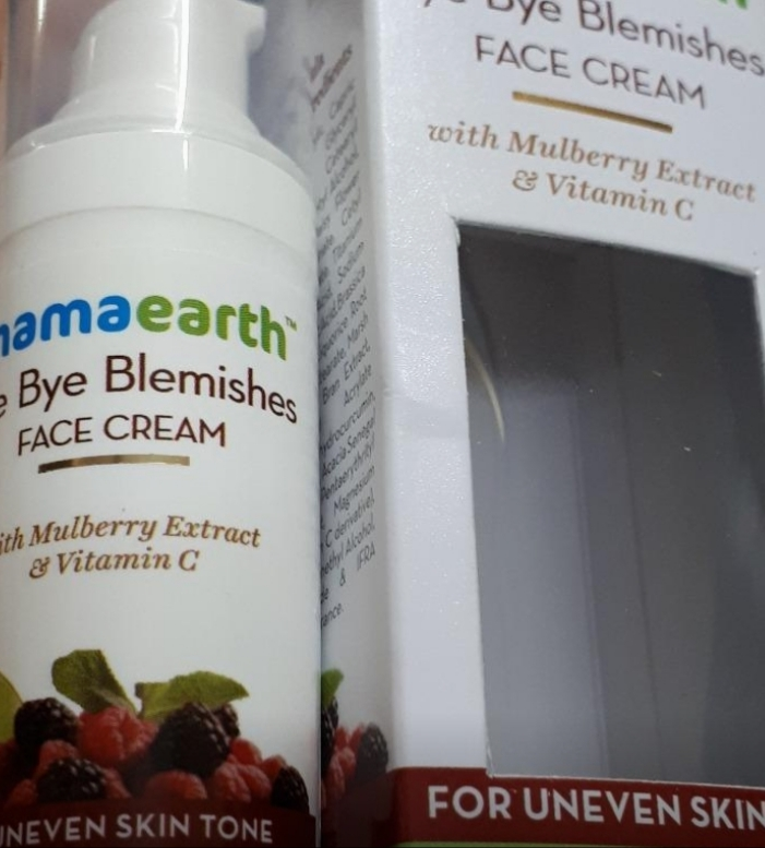 Mamaearth Bye Bye Blemishes Face Cream-Great-By pogostylecase