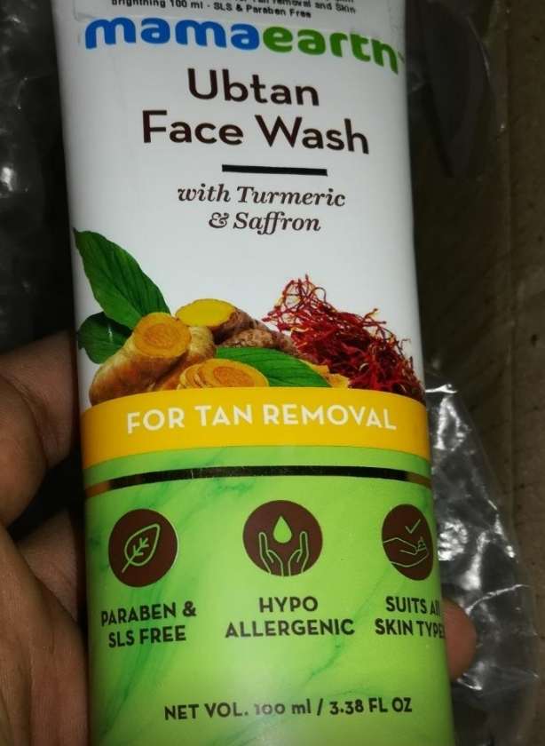 MamaEarth Ubtan Face Wash-Awesome-By pogostylecase