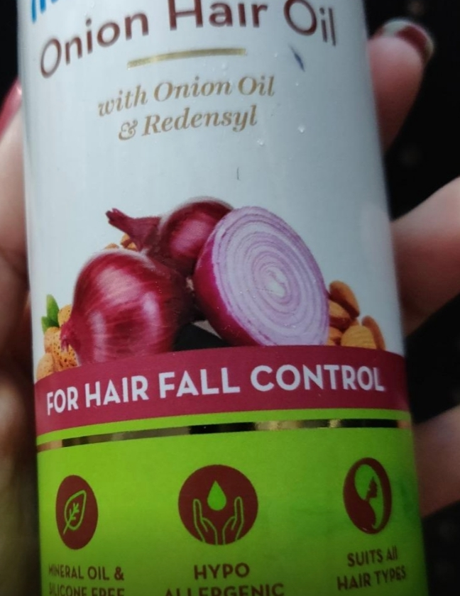 MamaEarth Onion Hair Oil-Great-By pogostylecase