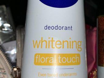 Nivea Whitening Smooth Skin Deodorant Roll On -Pleasant fragrance!-By poonam_kakkar