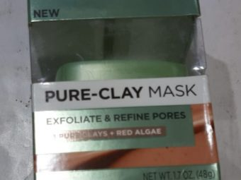 L'Oreal Paris Pure Clay Exfoliating And Refining Face Mask -Salon like Look!-By poonam_kakkar