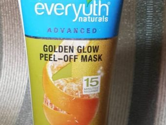 Everyuth Naturals Advanced Golden Glow Peel-off Mask -Good results-By pogostylecase