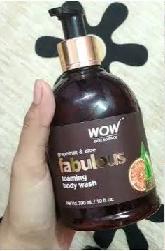 WOW STRAWBERRY AND PEACH BODY WASH-Nice-By pogostylecase