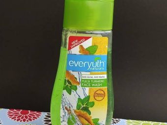 Everyuth Tulsi Turmeric Face Wash -Nice-By pogostylecase