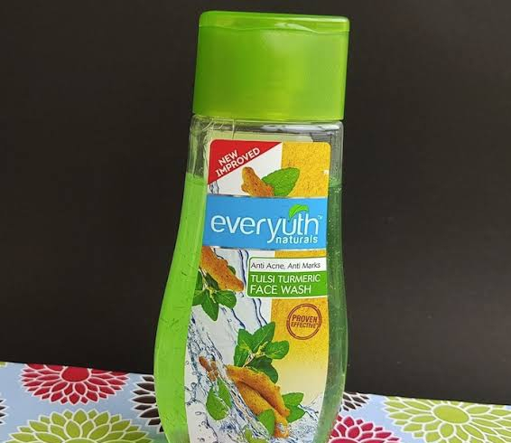 Everyuth Tulsi Turmeric Face Wash-Nice-By pogostylecase
