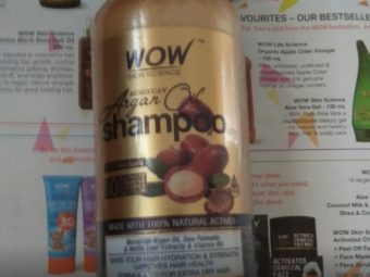 WOW Skin Science Moroccan Argan Oil Shampoo pic 1-Just loved it-By sanna