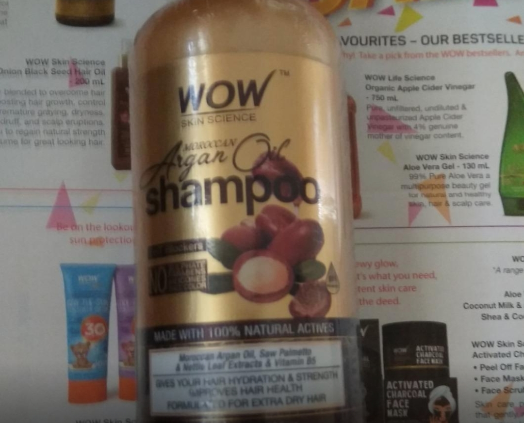 WOW Skin Science Moroccan Argan Oil Shampoo-Just loved it-By sanna-1