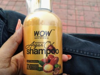 WOW Skin Science Moroccan Argan Oil Shampoo pic 2-Just loved it-By sanna