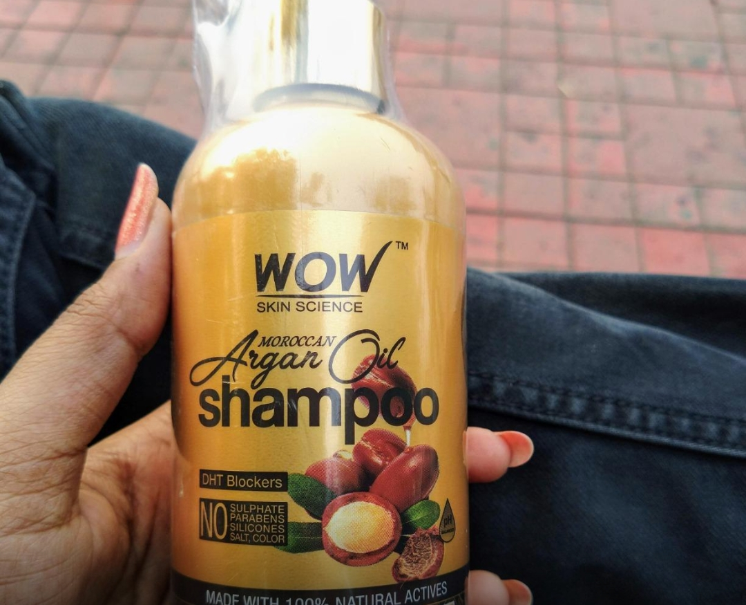 WOW Skin Science Moroccan Argan Oil Shampoo-Just loved it-By sanna-2