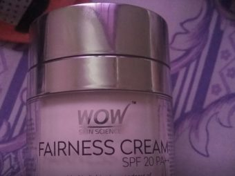 WOW Skin Science Fairness Cream SPF 20 pa++ -Nice-By pogostylecase