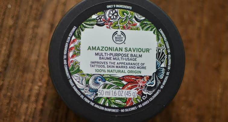 The Body Shop Amazonian Saviour Multi Purpose Balm -Versatile-By pogostylecase