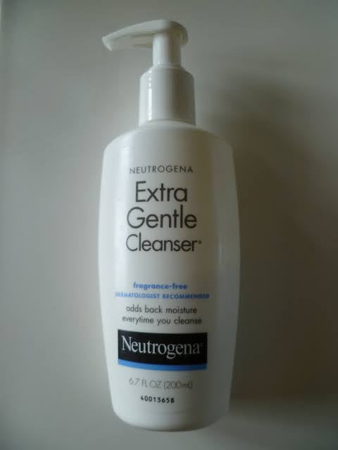 Neutrogena Extra Gentle Cleanser -helps improve skin-By bushraa
