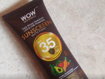 WOW Skin Science Matte Finish Sunscreen Lotion SPF 35 PA++ -Great-By pragya_sharma47