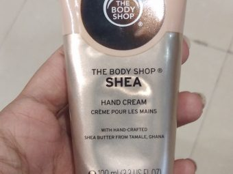 The Body Shop Shea Hand Cream pic 1-Love it-By Nasreen