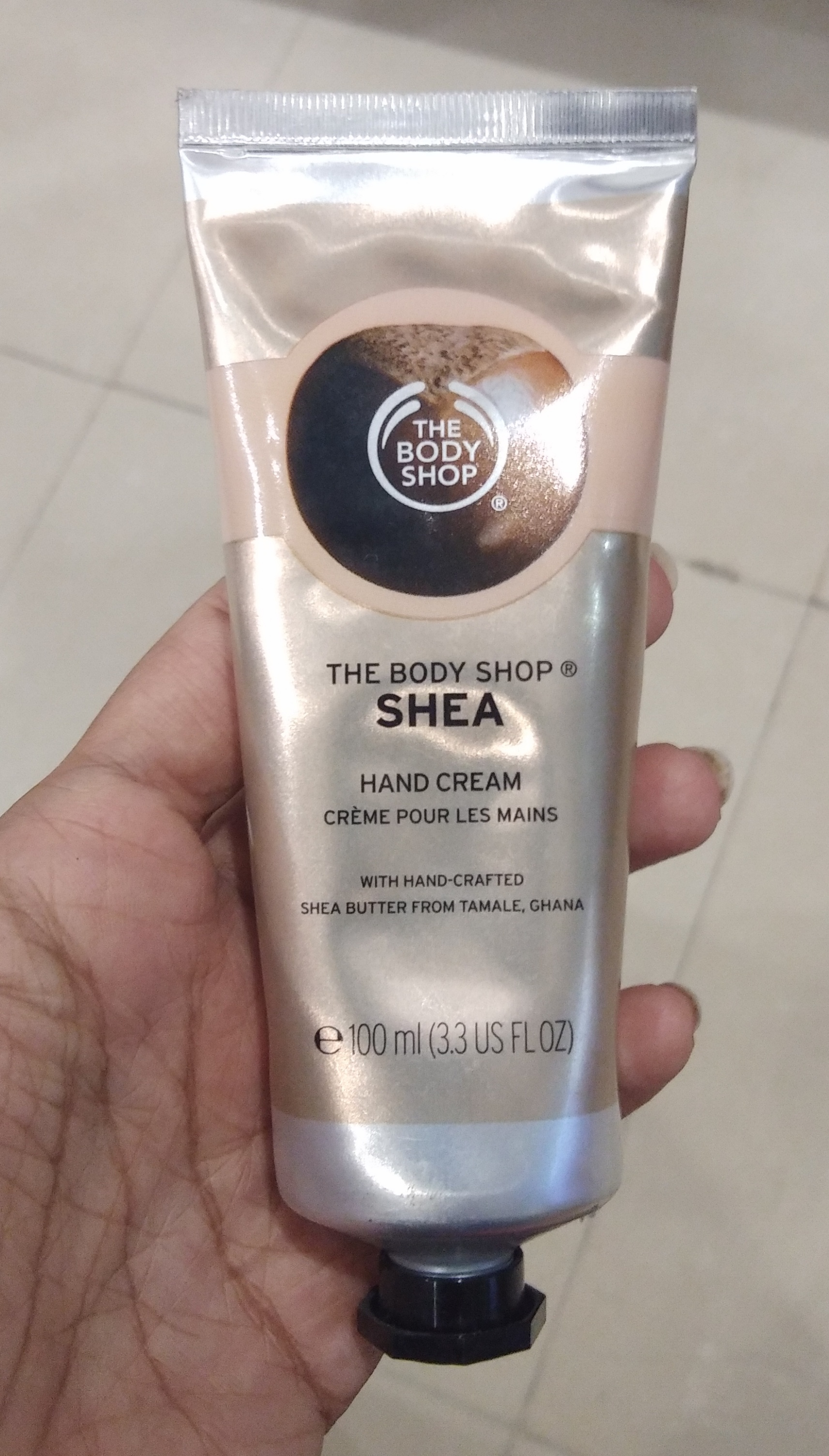 The Body Shop Shea Hand Cream-Love it-By Nasreen-1