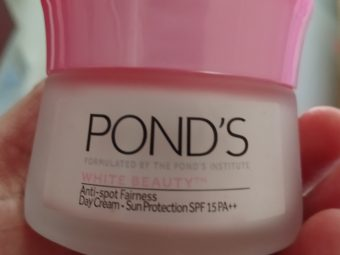 Pond's White Beauty Anti Spot Fairness Cream SPF 15 -Excellent beauty cream-By manapure