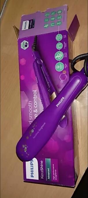 Philips KeraShine HP8316 Hair Straightener-Philips HP8316 00 Hair Straightener-By aflyingsoul