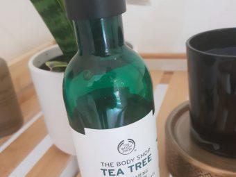 The Body Shop Tea Tree Skin Clearing Facial Wash -Goodness of tea Tree-By poonam_kakkar