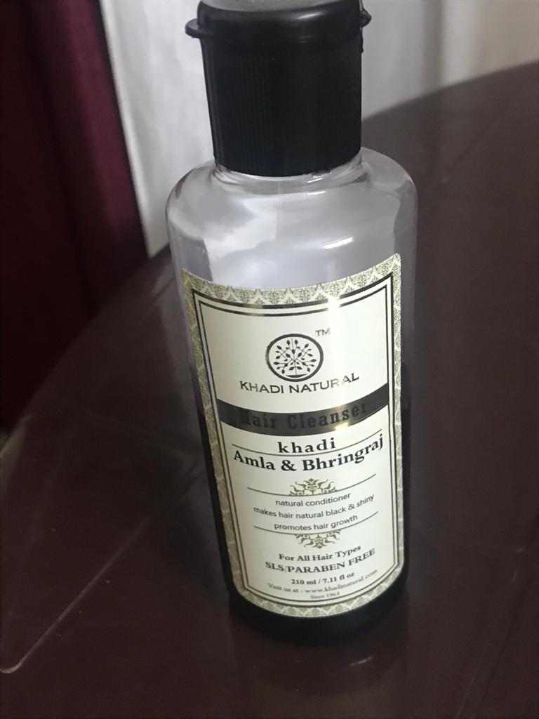 Khadi Natural Amla & Bhringraj Hair Cleanser -Herbal and natural cleanser for hair!-By poonam_kakkar