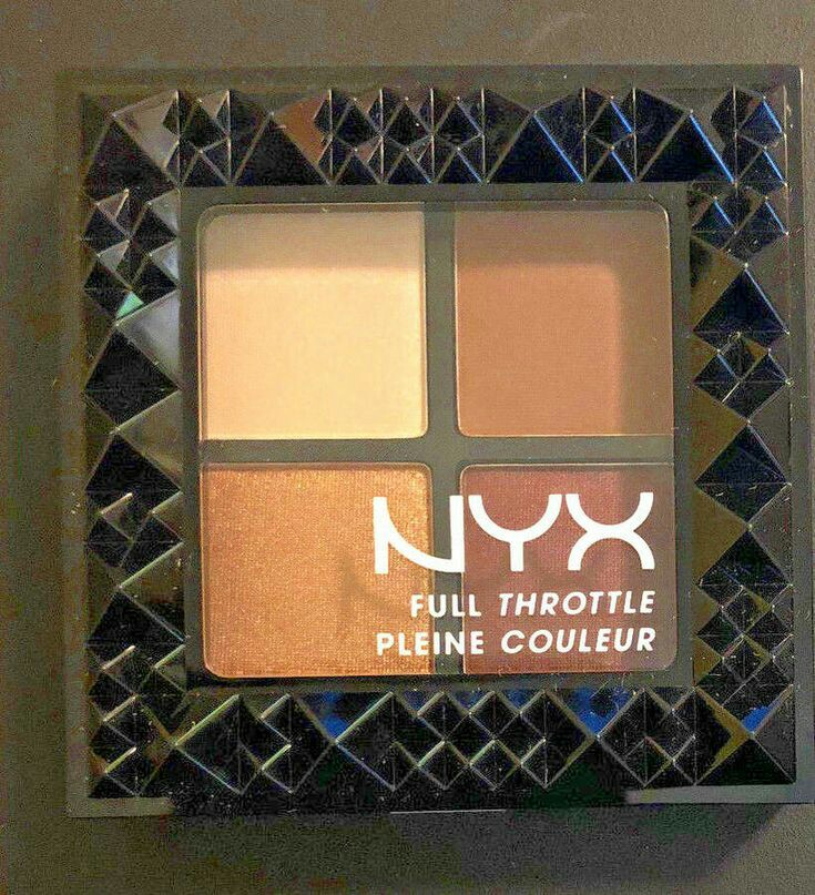 NYX Professional Makeup Full Throttle Shadow Palette-NYX Professional Makeup Full Throttle Shadow Palette-By aneesha