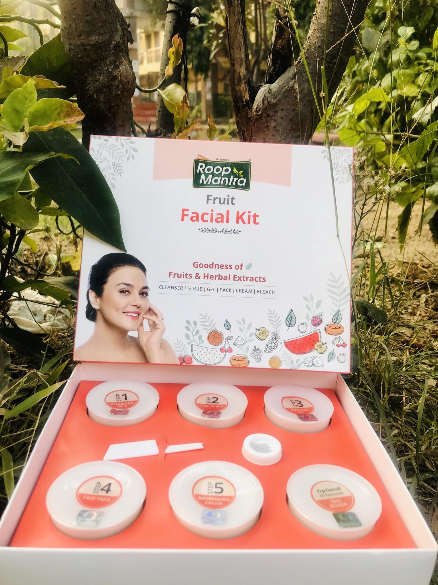Roop Mantra Fruit Facial Kit-Facial at home-By himaninailwal-1