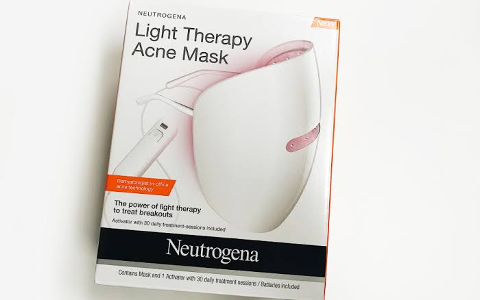 Neutrogena Light Therapy Acne Mask-Good results-By pogostylecase