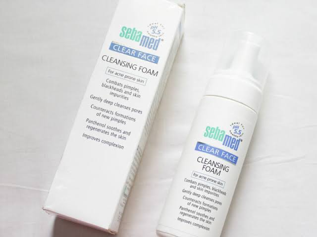 SebaMed Clear Face Cleansing Foam-Great-By pogostylecase
