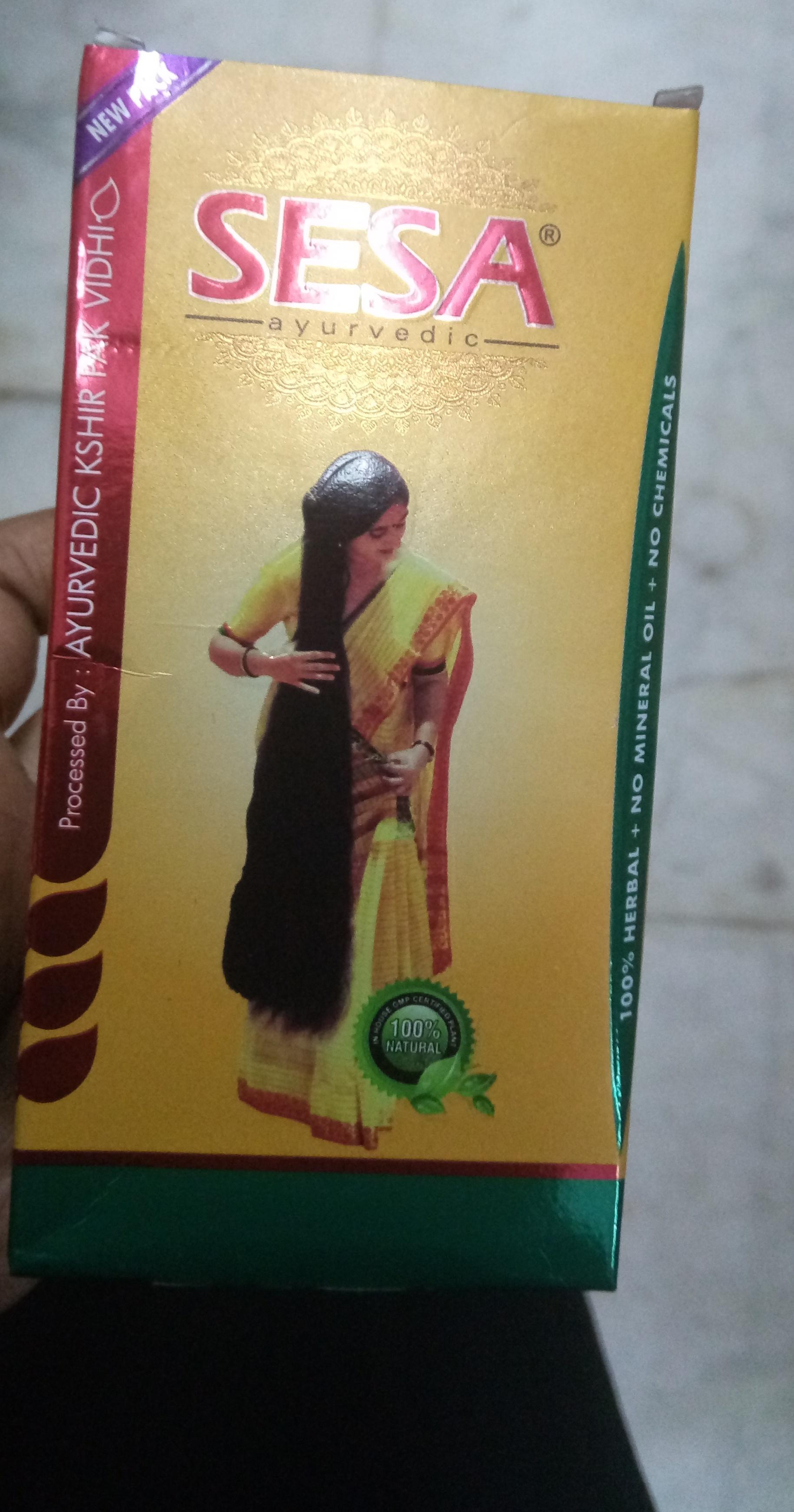 SESA Hair Oil-Okay product-By Nasreen-2