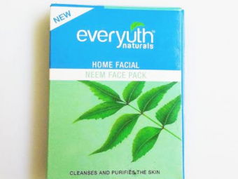 Everyuth Home Facial Neem Face Pack -Deeply purifies the skin-By vanitylove