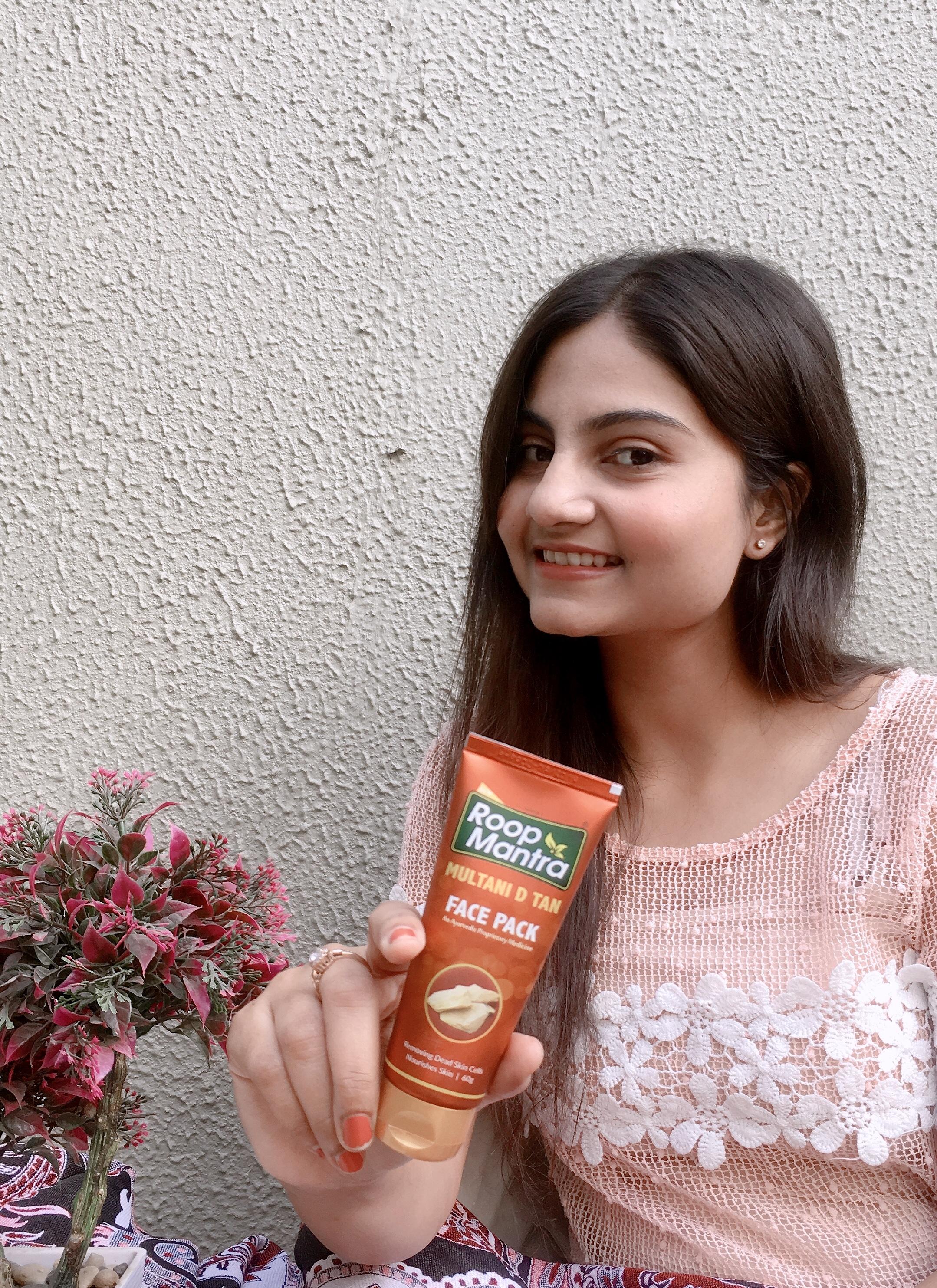 Roop Mantra Multani D Tan Face Pack -Multani D tan face-pack!-By drish