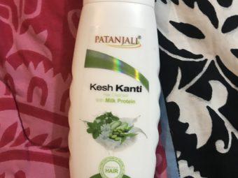 Patanjali Kesh Kanti Milk Protein Hair Cleanser Shampoo -Milk shampoo-By poonam_kakkar