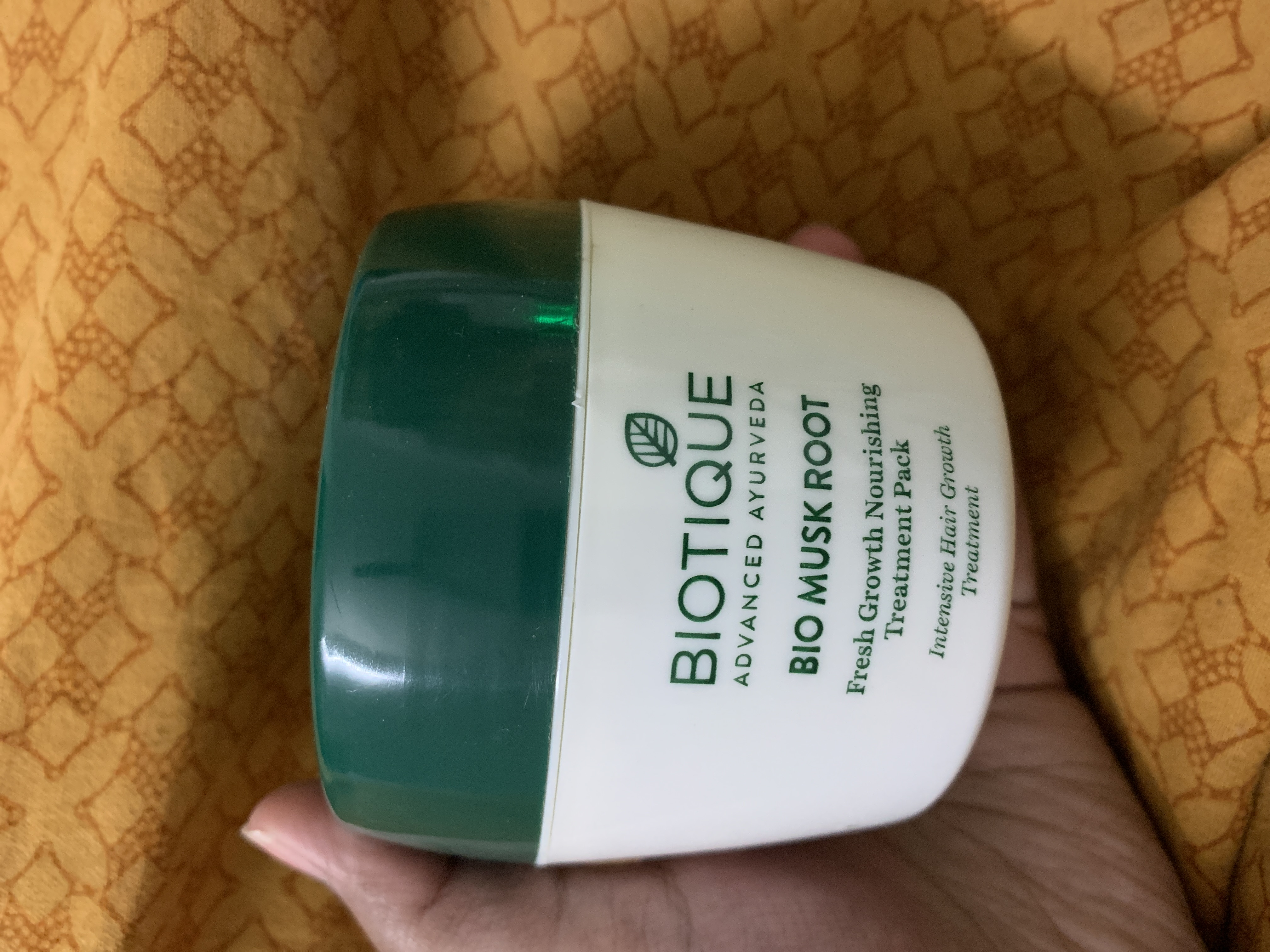 Biotique Bio Musk Root Fresh Growth Nourishing Treatment Pack-Not worthy-By neha_banerze-2
