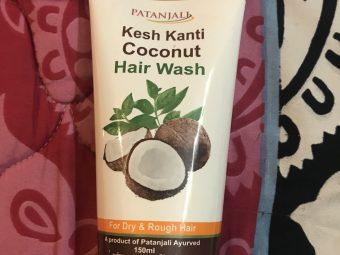 Patanjali Coconut Hair Wash -Smoothening shampoo-By poonam_kakkar