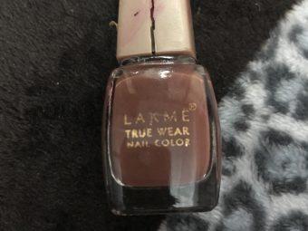 Lakme True Wear Nail Color -Smooth Nail y-By poonam_kakkar