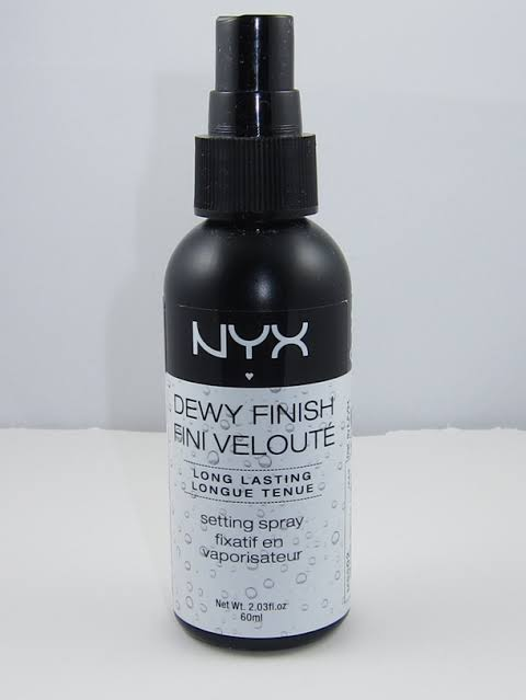 NYX Dewy Finish Setting Spray -Great fixer-By pogostylecase