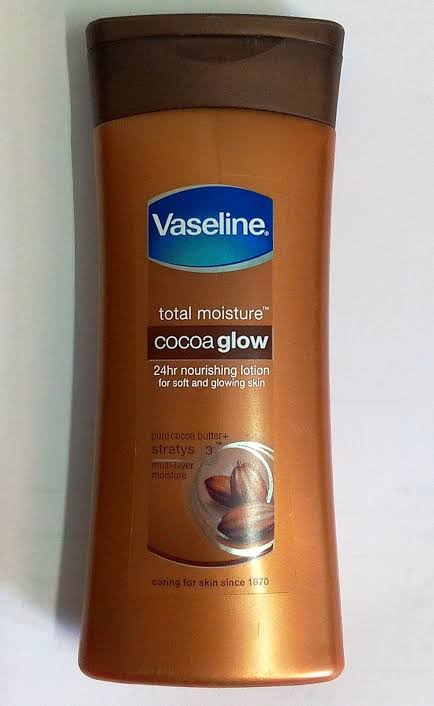 Vaseline Intensive Care Cocoa Glow Body Lotion-Great-By pogostylecase
