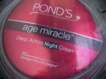 Ponds Age Miracle Deep Action Night Cream -Age miracle-By ritikajilka1991